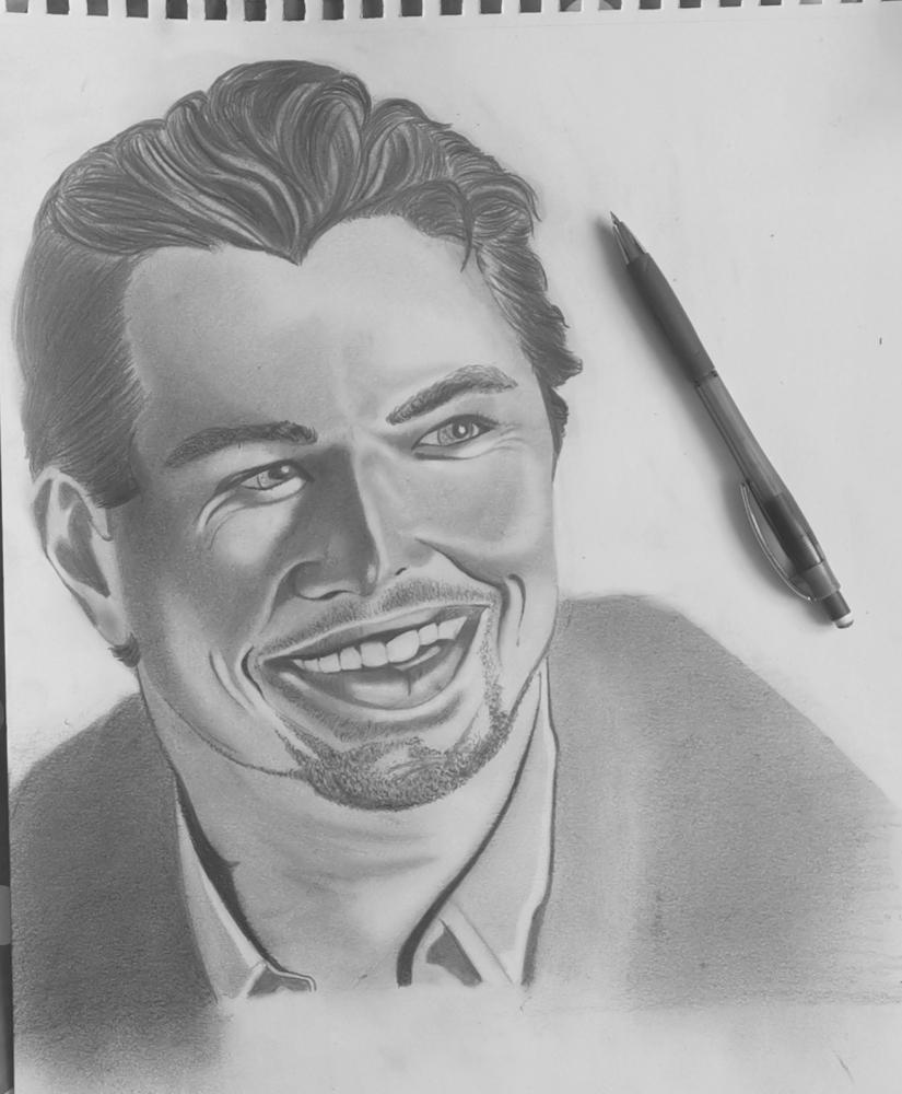 Leonardo DiCaprio by Fakdessin